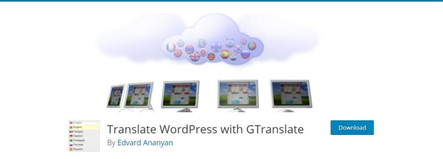 پلاگین وردپرس GTranslate برای ترجمه گوگل