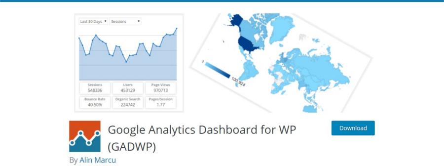 استفاده از Google Analytics Dashboard برای وردپرس