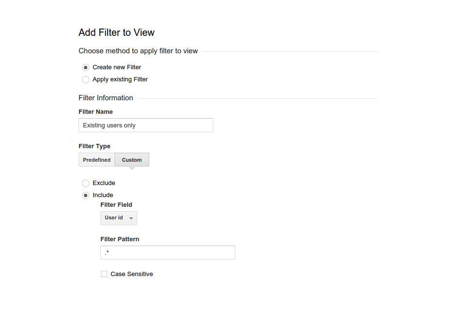 ایجاد ویو جدید در پراپرتی Google Analytics