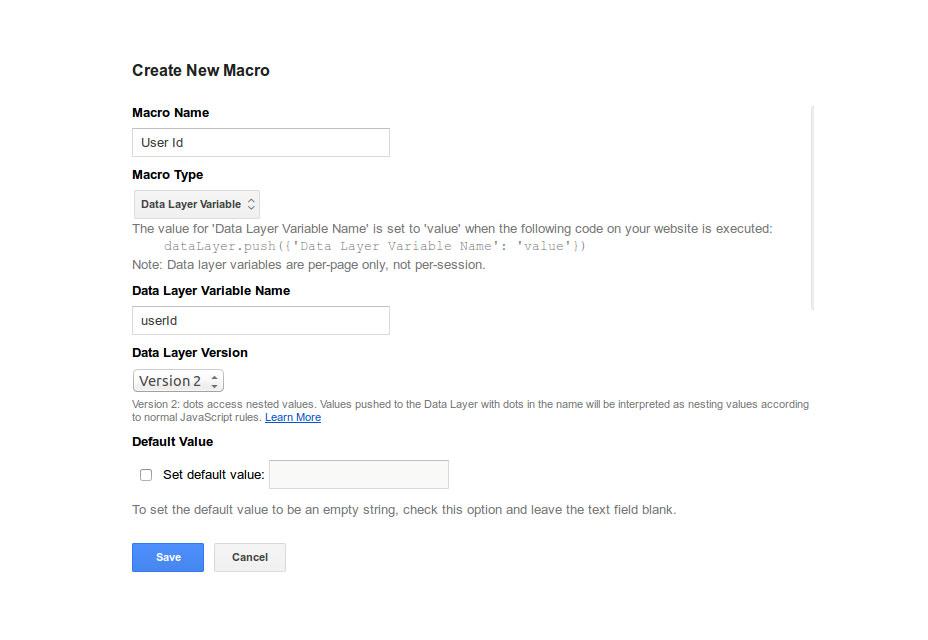 راه حل هایی برای شناسایی کاربران در گوگل آنالیز