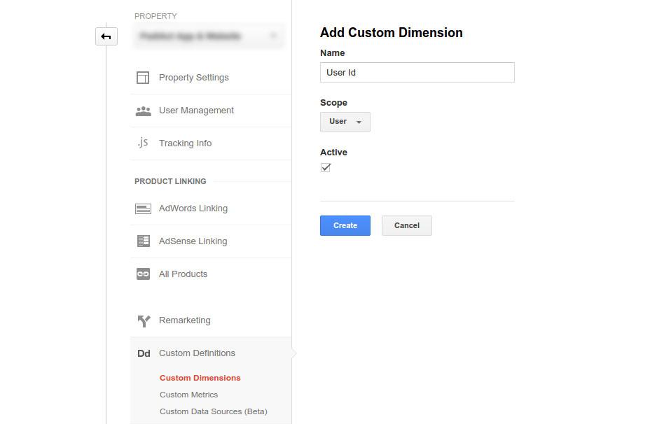 شناسایی آی دی کاربران در گوگل آنالیز