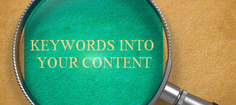 تاثیر کلمات کلیدی بر سئو