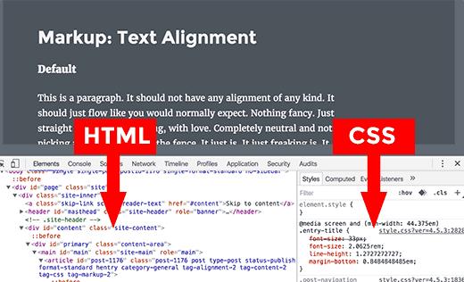 ویرایش آنلاین کدهای html و css