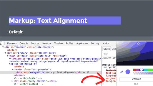 انجام تغییرات روی صفحه وب با استفاده از inspect