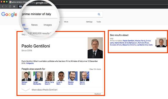 نحوه ظاهر شدن در پاسخ های گوگل