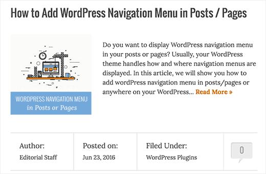 نحوه استفاده از خلاصه مطالب در سایت وردپرس