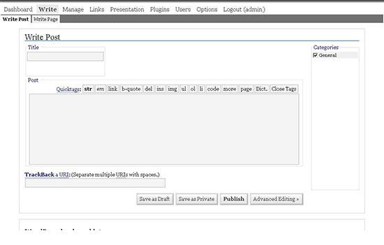 وردپرس نسخه 1.5