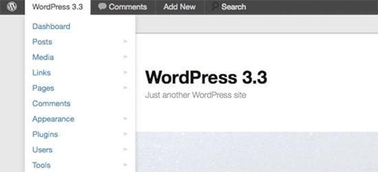 ویژگی های وردپرس 3.3
