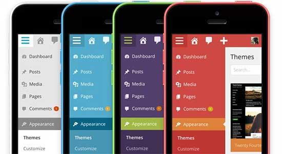 اولین انتشار نسخه موبایلی وردپرس