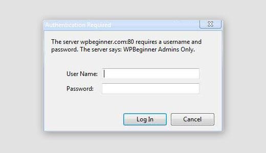 رمز عبور اضافی برای صفحه ورود وردپرس
