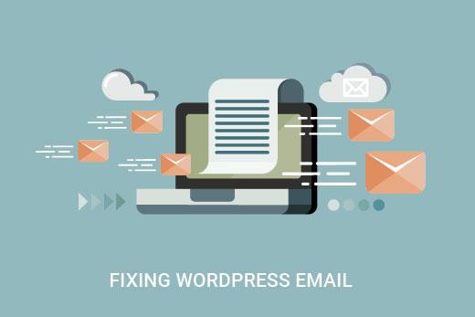 مشکل عدم ارسال ایمیل در وردپرس