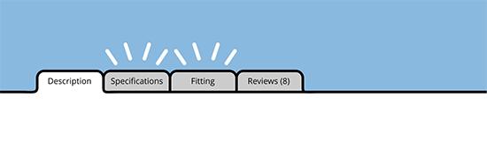افزونه نمایش توضیحات محصولات در تبهای جداگانه