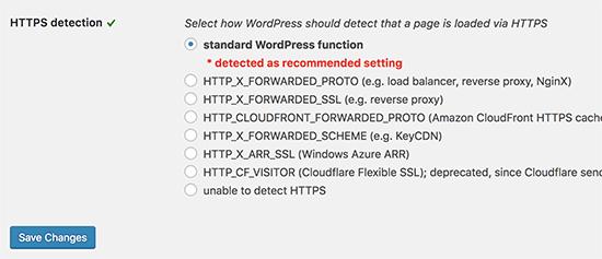 تنظیم پلاگین SSL Insecure Content Fixer