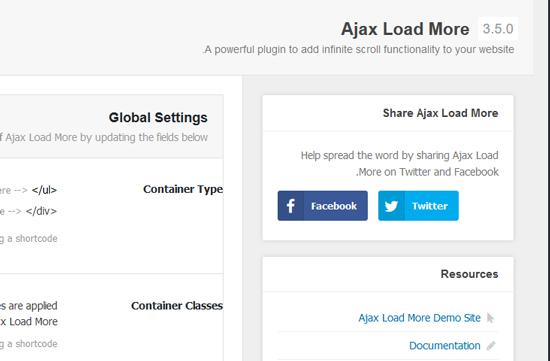 نحوه استفاده از افزونه ajax load more
