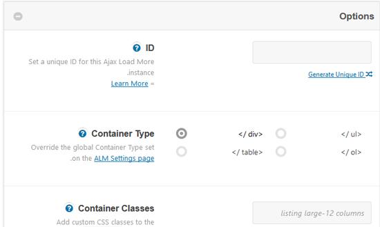 آموزش کار با پلاگین ajax load more