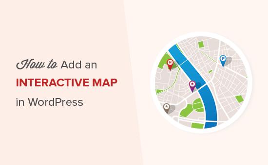آموزش ایجاد نقشه متحرک روی سایت وردپرس