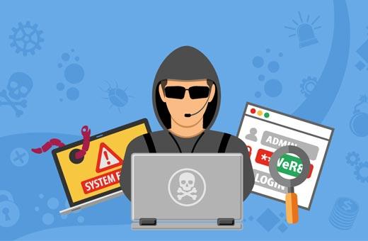 نشانههای هک شدن سایت