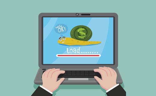 علت کاهش ناگهانی سرعت وبسایت