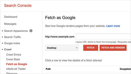 برطرف کردن عدم نمایش فایلهای CSS و JS برای گوگل