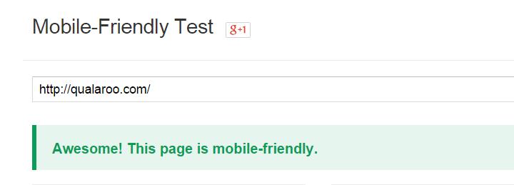 تست سازگاری سایت با نسخه موبایل