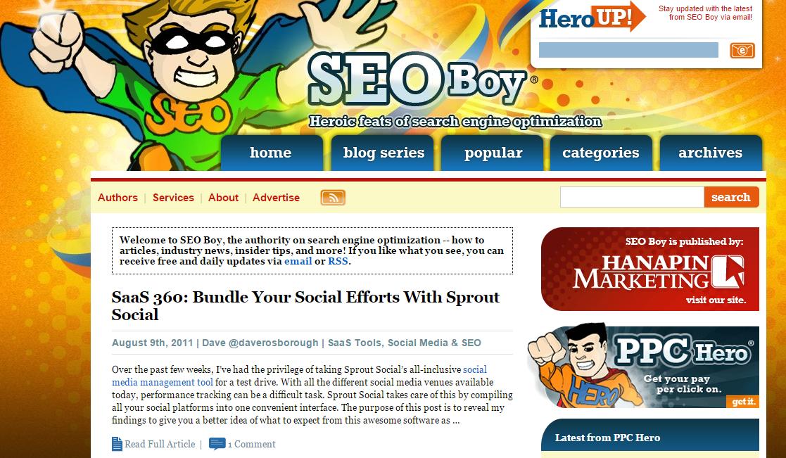 توضیحات متای سایت Seo Boy