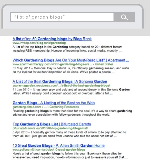 سرعت دادن به لینک گیری با جستجوی لیست